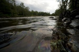 Canada oil pipeline spills 200,000 liters Via Getty Images