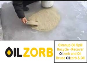 Oilzorb is an Oil Absorbent On Ice